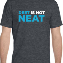 Deet is Not Neat Charcoal Tee