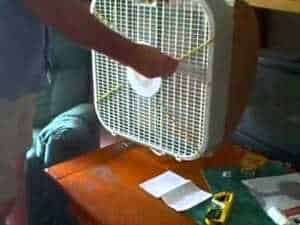 DIY Fan Mosquito Trap cheap