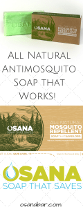 All Natural Antimosquito Soap that Works!